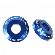 Apico Aluminium Pro Wheel Spacers - Rear Kawasaki Blue