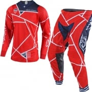 Troy Lee Designs SE Air Kit Combo - Metric Red Navy