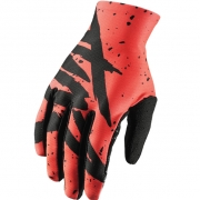 2018 Thor Void Gloves - Hype Coral Black