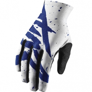 2018 Thor Void Gloves - Hype White Navy