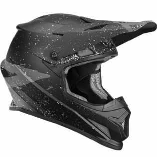 2018 Thor Sector Helmet - Hype Black Charcoal