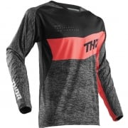 2018 Thor Fuse Jersey - High Tide Black Coral