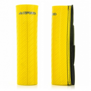 Acerbis Upper Fork Covers - Yellow