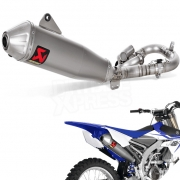 Akrapovic Stainless Exhaust System - Yamaha YZF 450 2018-Current