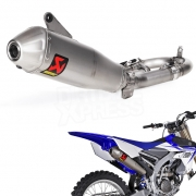 Akrapovic Stainless Exhaust System - Yamaha YZF 250 2014-Current