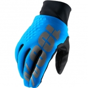 100% Hydromatic Brisker Gloves - Cyan