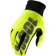 100% Hydromatic Gloves - Neon Yellow