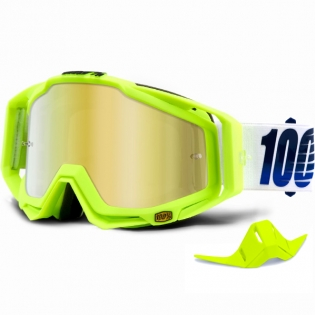 100% Racecraft Goggles - GP21 Mirror Lens