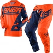 2018 Answer Syncron Kids Kit Combo - Flo Orange Blue