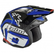 Hebo Zone 4 Carbon Trials Helmet - Blue