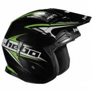 Hebo Zone 4 Extreme 2 Trials Helmet - Black