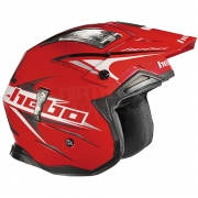 Hebo Zone 4 Extreme 2 Trials Helmet - Red