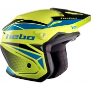 Hebo Zone 5 Polycarb Trials Helmet - Svan Lime