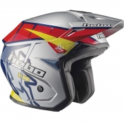 Hebo Zone 5 Polycarb Trials Helmet - T-One Grey