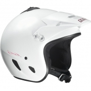 Hebo Zone Polycarbonate Trials Helmet - White
