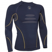 Forcefield Technical 2 Base Layer Shirt - Blue Yellow