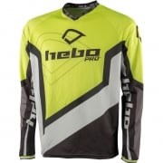 Hebo Pro 18 Trials Jersey - Lime