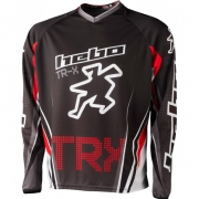 Hebo Pro TR-X Trials Jersey - Red