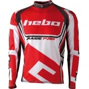 Hebo Race Pro ll Trials Jersey - Red