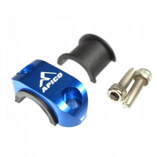 Apico Master Cylinder Perch Rotator Clamp - Blue