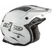 Hebo Zone 4 Fibre Trials Helmet - Mono White
