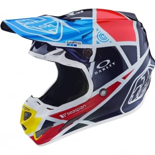 Troy Lee Designs SE4 Carbon Helmet - Metric Navy
