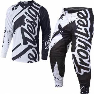 Troy Lee Designs SE Kit Combo - Shadow White Black