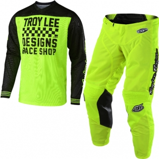 Troy Lee Designs GP Air Kit Combo - Raceshop Flo Yellow