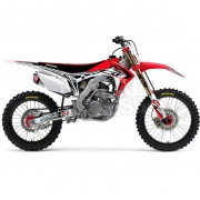 FLU Designs PTS 3 Honda CRF Graphics Kit