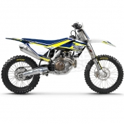 FLU Designs PTS 3 Husqvarna FC Graphics Kit