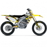 FLU Designs PTS 3 Suzuki RMZ Graphics Kit