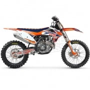 FLU Designs PTS 3 KTM SXF Graphics Kit