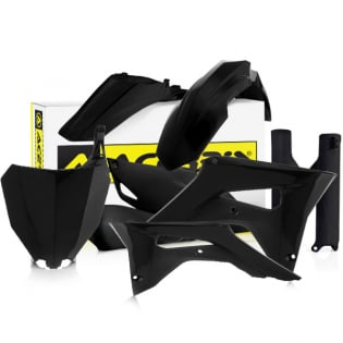 Acerbis Plastic Kit - Honda CRF - Black