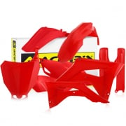 Acerbis Plastic Kit - Honda CRF - Red