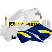 Acerbis Plastic Kit - Husqvarna TC - OEM Blue Yellow