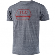 Troy Lee Designs T Shirt Factory Vintage Grey