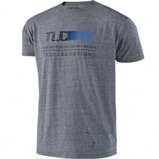 Troy Lee Designs T Shirt Wired Vintage Grey