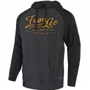 Troy Lee Designs Hoodie Riser Black Charcoal
