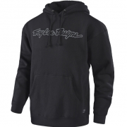 Troy Lee Designs Hoodie Signature Black Grey