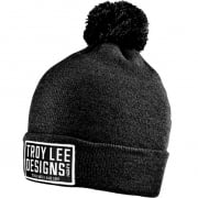 Troy Lee Designs Knox Pom Beanie - Heather Black