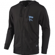 Troy Lee Designs Zip Up Hoodie Victory Black