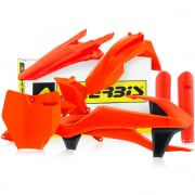 Acerbis Plastic Kit - KTM SXF - Fluo Orange