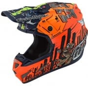 Troy Lee Designs SE4 Baja Composite Helmet - Orange