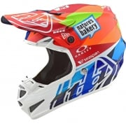 Troy Lee Designs SE4 Jet Composite Helmet - Navy Orange