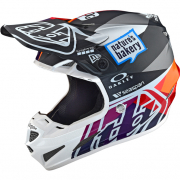 Troy Lee Designs SE4 Jet Composite Helmet - Red Yellow