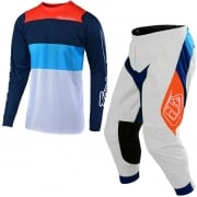 Troy Lee Designs SE Air Beta Kit Combo - White Navy