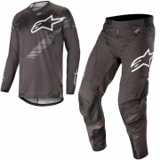 Alpinestars Techstar Graphite Kit Combo - Black Anthracite