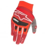 Alpinestars Techstar Red Burgundy Gloves