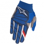 Alpinestars Aviator Dark Blue White Gloves