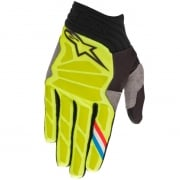 Alpinestars Aviator Yellow Fluo Black Gloves